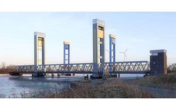 Hamburg Neue Bahnbrücke Kattwyk © PPL-Hamburg