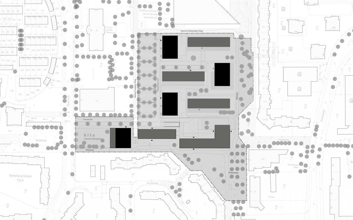 Städtebau: dv architekten © PPL-Hamburg