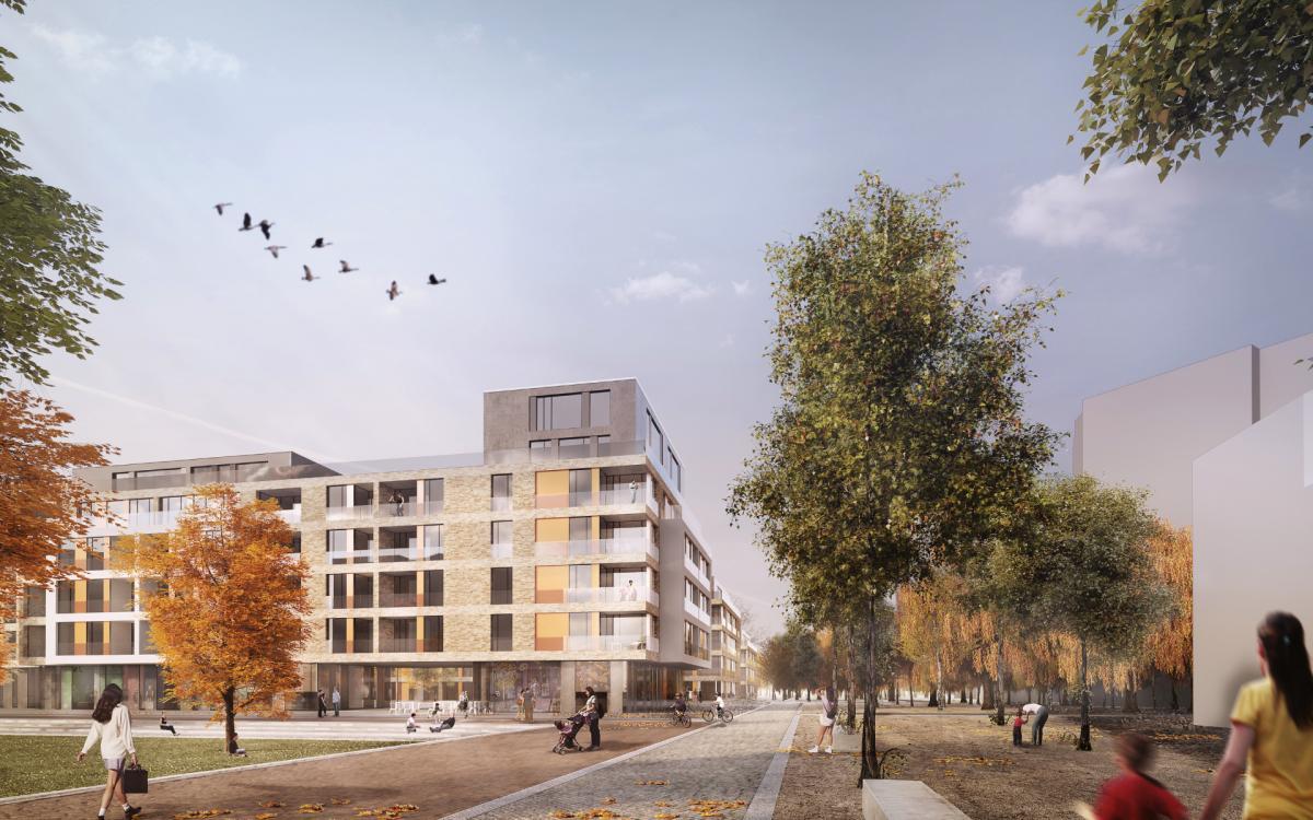 Städtebaulicher Wettbewerb 2013 © PPL-Hamburg