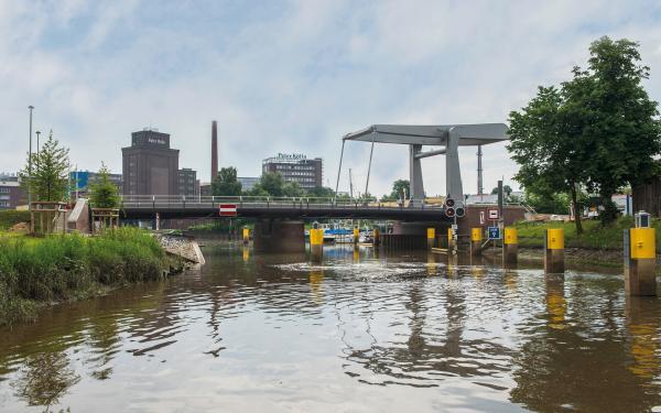 Elmshorn Käpten-Jürs Klappbrücke © PPL-Hamburg
