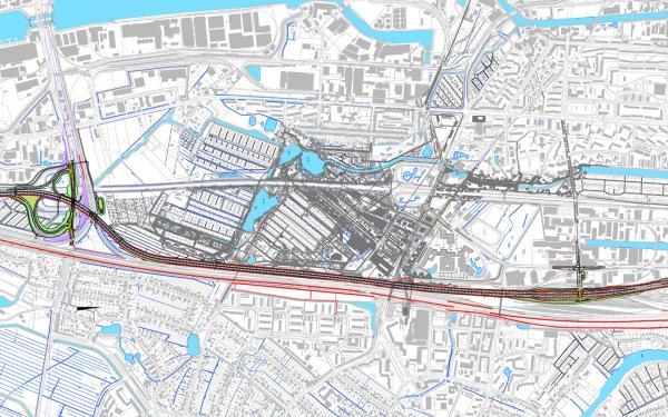 Hamburg Verlegung Wilhelmsburger Reichstraße © PPL-Hamburg