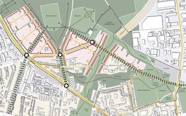 Hamburg Rahmenplan Bahrenfeld-Nord © PPL-Hamburg
